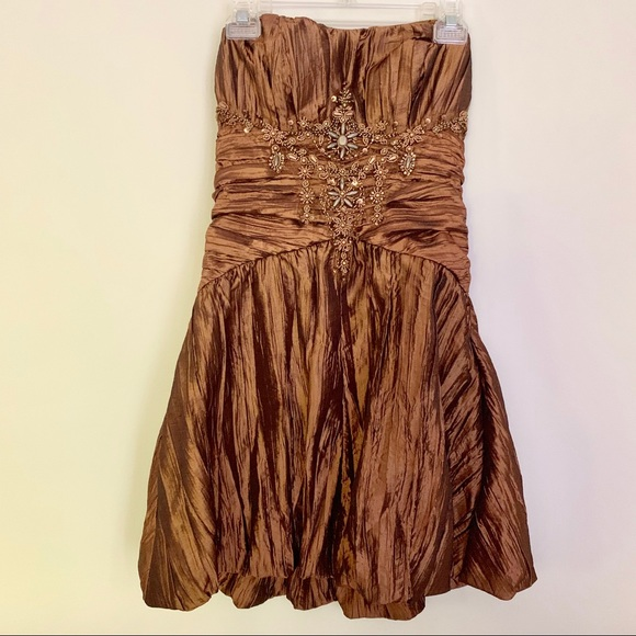 Sue Wong Dresses & Skirts - Sue Wong designer strapless cocktail dress